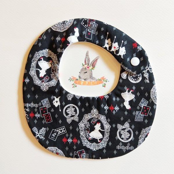 米咕手作 △ 寶寶六重紗 圍兜兜 / 口水巾 / 領巾 |愛麗絲|