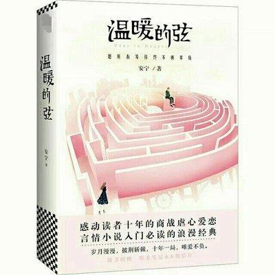 (現貨)贈劇照+筆記本【溫暖的弦】2018年張翰,張鈞甯主演電視劇原著小說