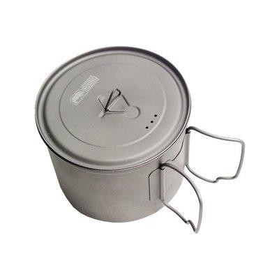 【A'SPORT】Rhino 犀牛牌 KT-11 鈦合金超輕湯壼 輕便鍋 登山鍋 湯鍋 輕便鍋