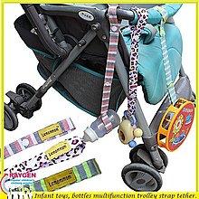 八號倉庫  玩具 多功能 玩具 奶瓶 綁帶 掛帶 繫繩 加長版【2C203X437】