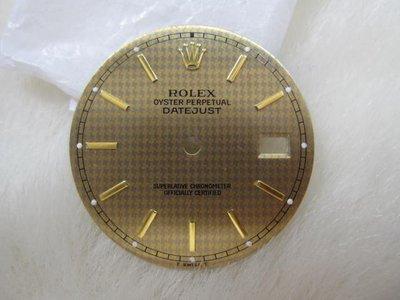 勞力士 ROLEX 16233 16013 36mm 特殊面盤 原裝真品