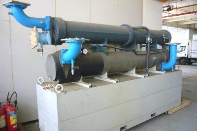 大樓空調 工業冷卻 冰水機 冷凍機 箱型冷氣 壓縮機 專業施工 維修保養 新舊中古買賣