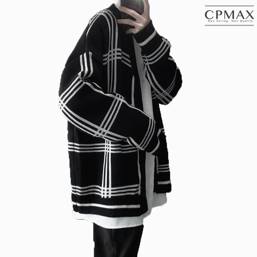 CPMAX 新款韓版慵懶風 寬鬆針織毛衣外套 針織上衣 針織外套 外套 針織 上衣 韓版 寬鬆 針織開衫 C134
