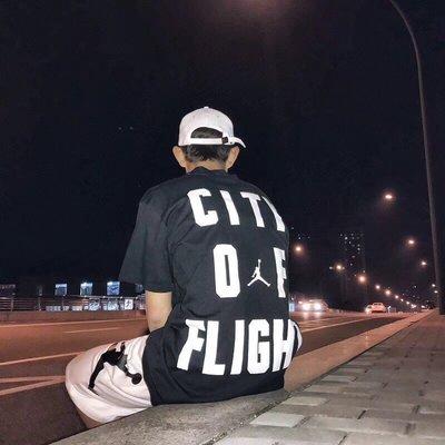 NIKE AIR JORDAN 18SS新款CITY OF FRIGHT 黑白兩色 尺碼 M  L XL