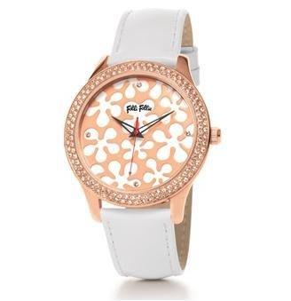 Folli Follie HAPPY NUGGET 腕錶 WF0B044SSS.WH