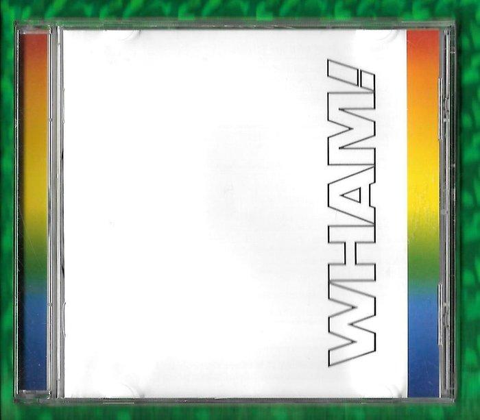 歐版CD《渾合唱團》解散紀念專輯 /WHAM!-THE FINAL 全新未拆