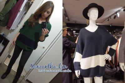 轉售  Samantha in Tokyo   SLY LANG 雙色長袖針織上衣  日本 連線 MOUSSY