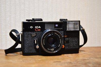 【大和139】早期底片老相機  KONICA C35 EF