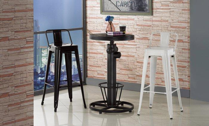 FA-477-2狄倫1.8尺圓形胡桃升降吧台桌/高品質/新竹以北區/家具/超低價/系統家具高品質/1元起