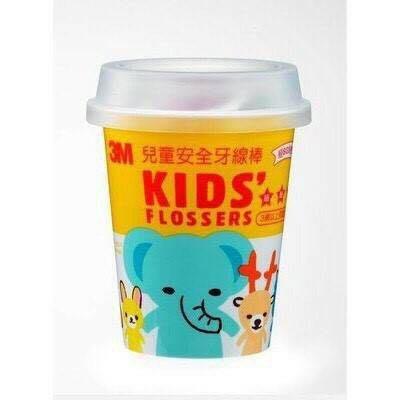 【便利商店】3M 兒童安全牙線棒 杯裝存錢罐 55支入 動物造型 新北市