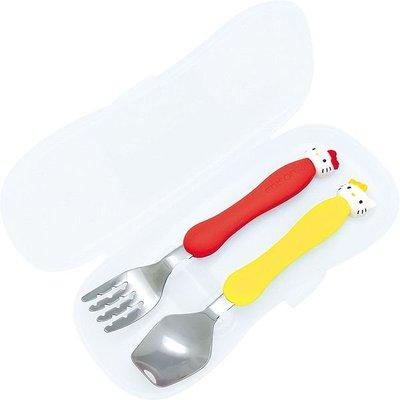 41+ 現貨不必等 正版授權 絕版品 KITTY 餐具組4544742916480 my4165