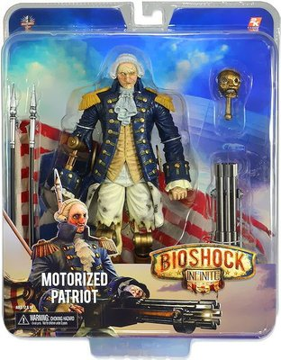金錢貓雜貨 全新 NECA Bioshock 生化奇兵 Infinite Motorized Patriot 愛國者