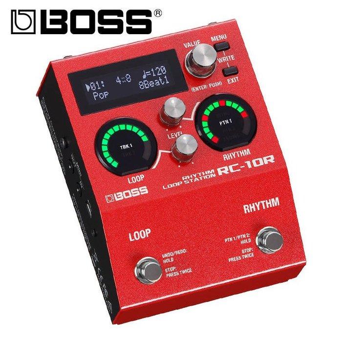 ☆唐尼樂器︵☆公司貨免運 BOSS RC-10R 歌曲循環錄音和鼓機 單顆 效果器 原廠公司貨保固 RC10R