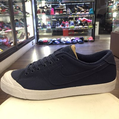 BEETLE PLUS  NIKE ALL COURT PREMIUM QUICKSTRIKE 藍 布面 US12
