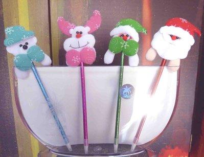 聖誕造型原子筆~聖誕節禮物結婚禮小物二次進場送客禮贈品周年慶生分享禮來店禮開幕迎賓禮滿額禮