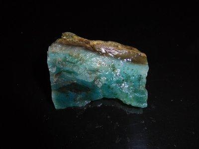(標66)台灣藍寶/藍玉隨 年糕共生礦 原礦 東玉
