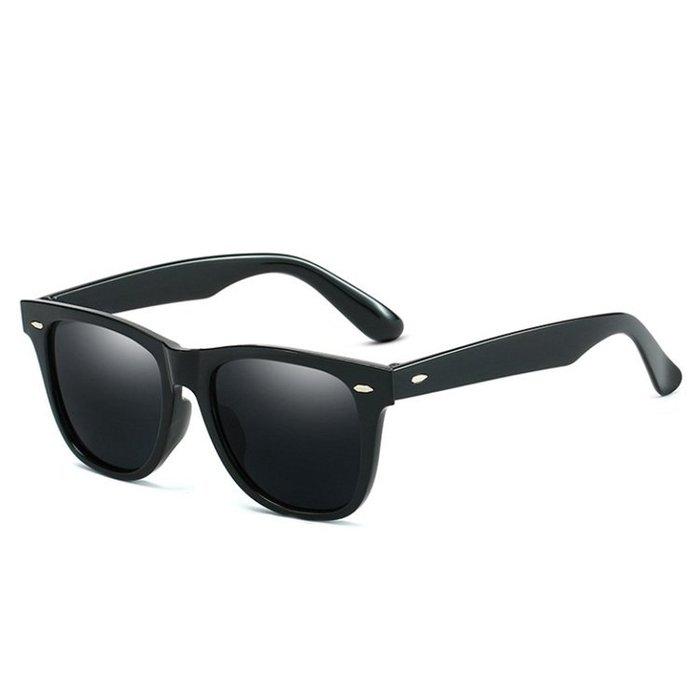 太陽鏡 街拍潮太陽鏡時尚米釘太陽眼鏡男女通用墨鏡方形復古簡單百搭