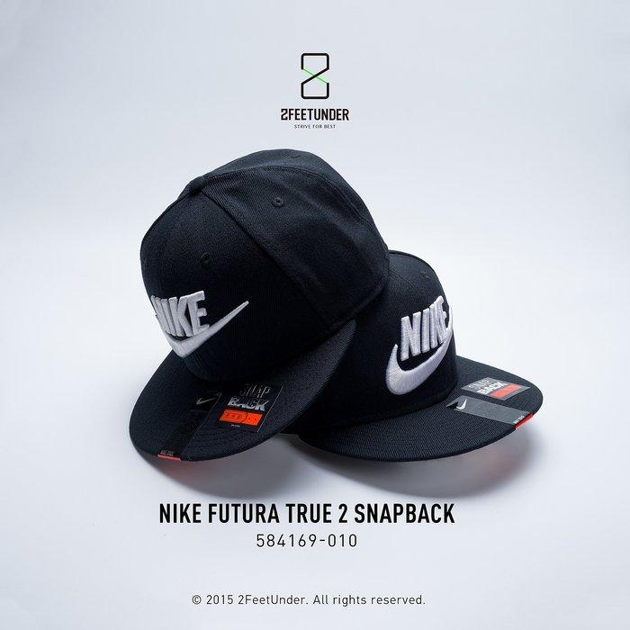 2FeetUnder - Nike Futura True 2 SNAPBACK 棒球帽 584169-010