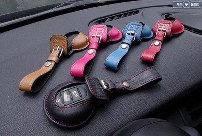 ✿生活館✿英國迷你Mini Cabrio Cooper Paceman Hatch F56 鑰匙包頭層牛皮