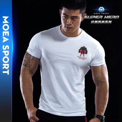 【OTOKO Men's Boutique】MOEA墨立方:超級英雄HERO/T恤/白色(台灣獨家代理) 原廠正品
