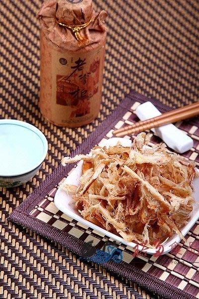 愛饕客【炭烤古早味魷魚絲】古法炭烤香甜美味,允指美食 !