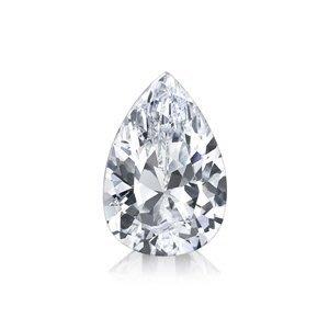 GIA 0.43克拉D VVS2 Pear Cut Diamond (40分水滴型切刻鑽石價格)