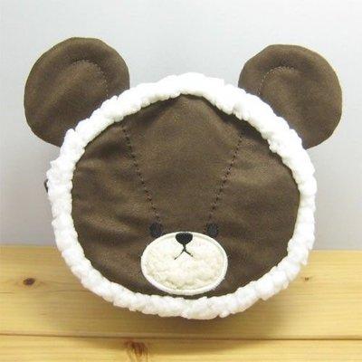 *凱西小舖*日本進口正版the bear's school小熊學校雪人造型收納/化妝包
