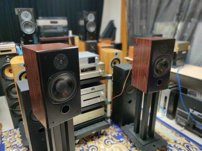 英國製 Onix L82 值得一生擁有收藏級書架喇叭 音色極美令人陶醉