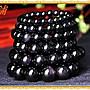 【柴鋪】特選 墨西哥彩虹眼 全紫眼黑曜石手鍊 顆顆雙紫光眼 8mm圓珠(G7-1)
