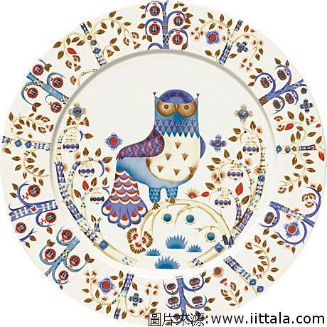 Taika貓頭鷹魔幻森林30cm餐盤,芬蘭Iittala碗盤特價9折!🌟最特別的禮物都在奧爾思🌟