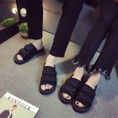 Summertime 木乃伊拖鞋 帆布涼拖鞋 魔鬼貼拖鞋