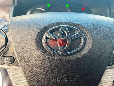 ~韋順~豐田 TOYOTA COROLLA CROSS  用 方向盤貼 方向盤裝飾貼 方向盤標誌貼 方向盤飾板