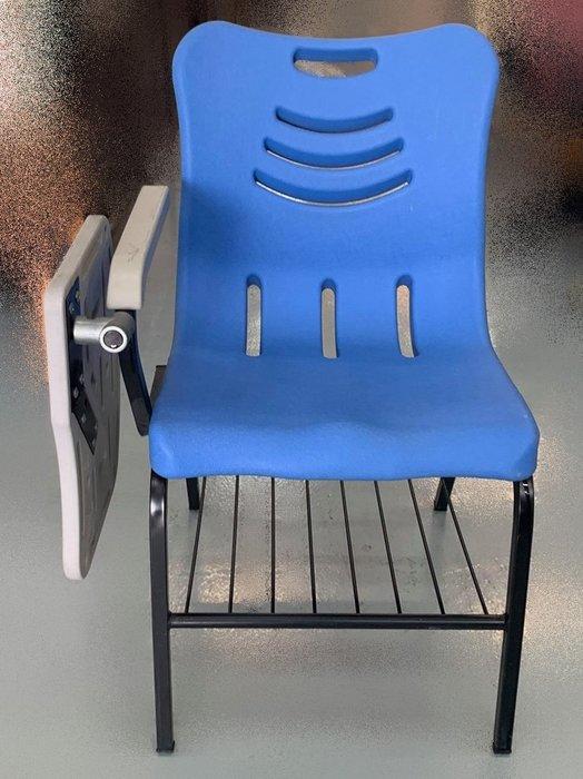 【宏品二手家具】二手家具 家電 F81621*藍色書桌椅* 全新二手家具家電買賣 各式OA辦公家具大特賣