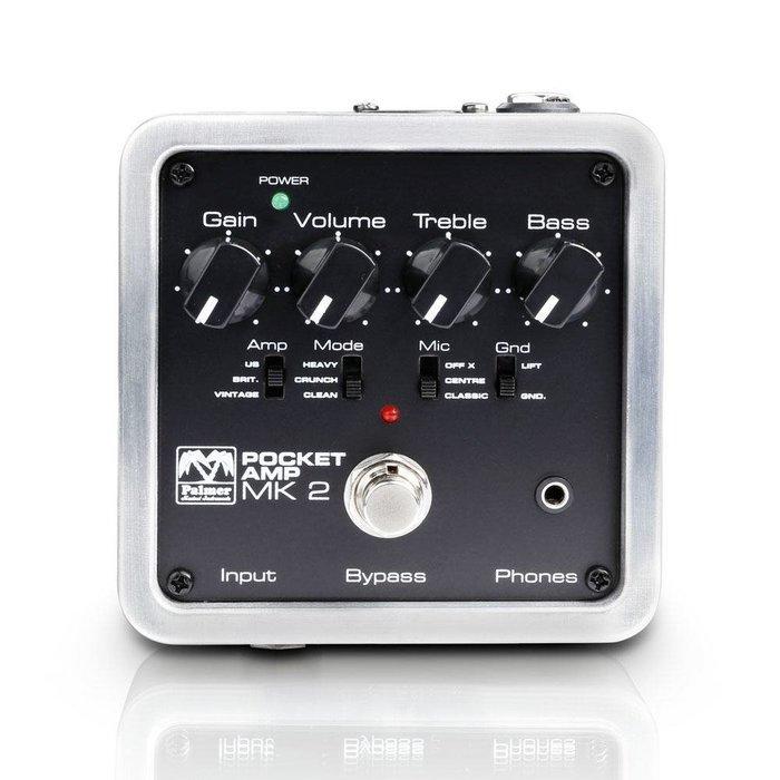 ☆ 唐尼樂器︵☆德國製 Palmer Pocket Amp MKII 電吉他單顆音箱模擬/前級/家用練習器