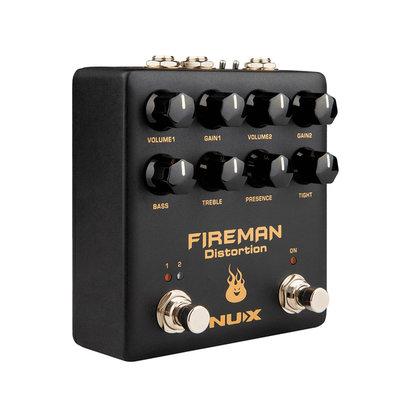 大鼻子樂器-NUX NDS-5 Fireman Distortion 失真效果器