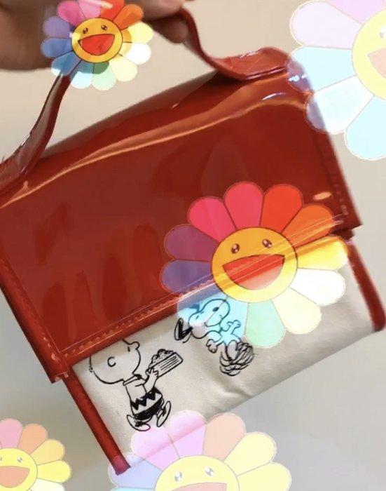🙋♀️日雜現貨✨史努比保溫保冷袋 日本雜誌附錄保溫袋 保冷袋 手提袋 房屋造型 野餐 便當袋 露營 PEANUT