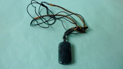 紫色小館9------墨玉項鍊