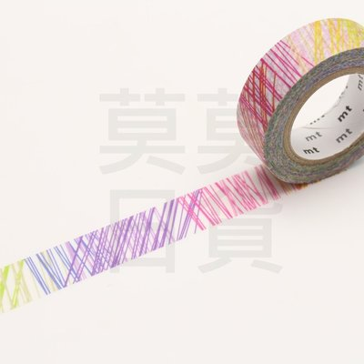 【莫莫日貨】2017 AW mt x Kapitza seesaw系列 和紙膠帶-彩色線條(整捲)MTKAPI03