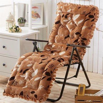 ZIHOPE 懶人椅墊 墊子坐墊家用午睡躺椅墊午憩寶折疊椅加長超柔軟毛毯懶人一體靠背ZI812