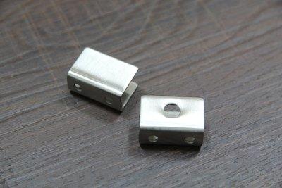 (小型) 不鏽鋼 玻璃夾具 不銹鋼 玻璃平台 固定夾 層板夾 砂光 2入