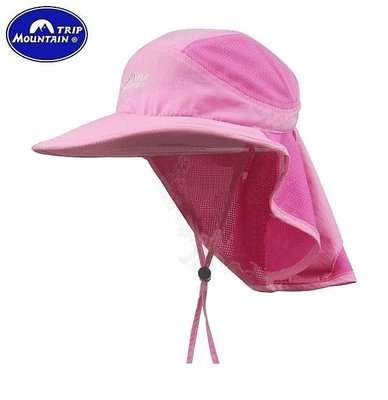 【露西小舖】Mountain Trip透氣網布防曬簾帽(抗UV UPF30)叢林帽休閒帽透氣網帽賞鳥帽獵帽畫家帽報童帽