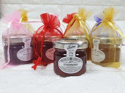 樂芙 LoverQ * 英國TIPTREE小果醬繽紛圓形花朵紗袋 * 婚禮小物 下午茶 紅茶包 咖啡包 果醬