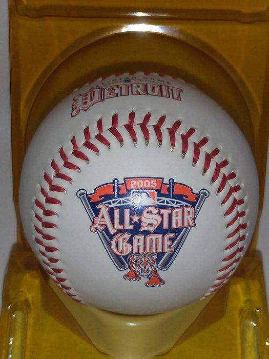 貳拾肆棒球精品-2005MLB美國職棒大聯盟 底特律 All-star明星賽紀念球,