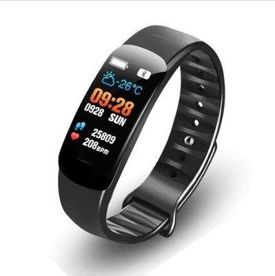 輕語生活小鋪 C2彩屏智慧手環游泳防水男女運動計步手錶多功能安卓蘋果S365