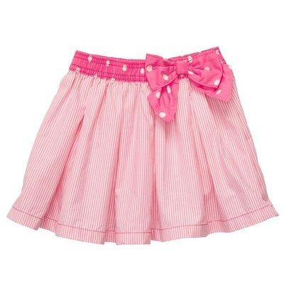 降價囉~~美國童裝名牌 OshKosh B'gosh 粉色條紋短裙 (3T) 現貨在台不必等