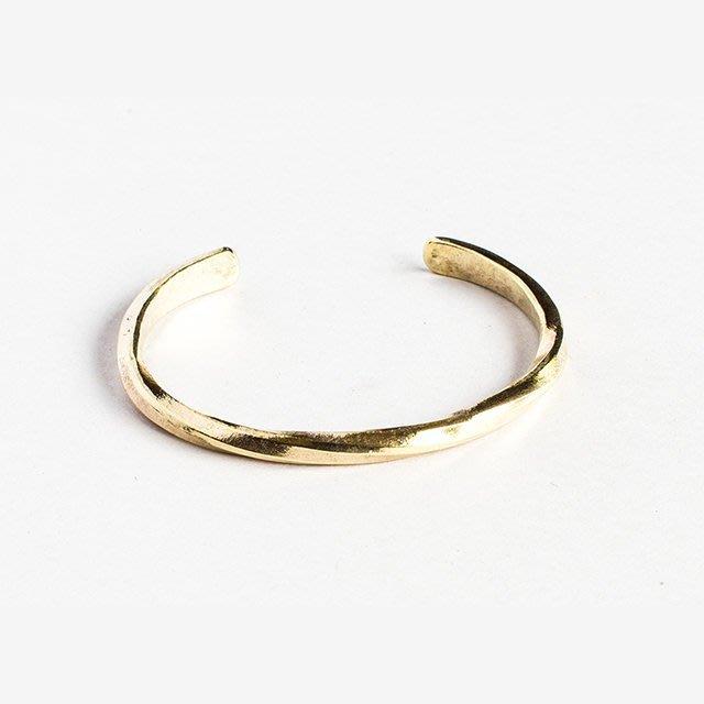 美國匹茲堡職人品牌Studebaker Metal純手工鍛造黃銅手環 - LTS現貨
