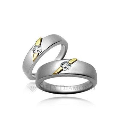 《JELY時尚館》【JELY Diamond】Honey Diamond(對戒)---10分真鑽石戒指 §會員獨享交換維修優惠§