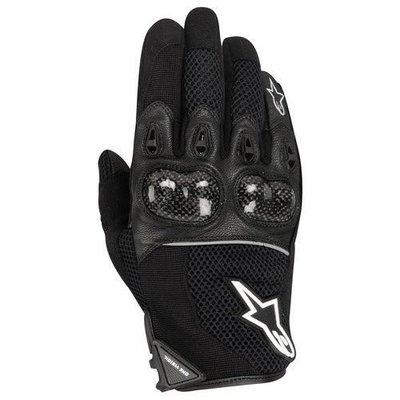 台中皇欣!!正義大利名牌 ALPINESTARS 出品夏季透氣碳纖維保護短手套 Arbiter !!