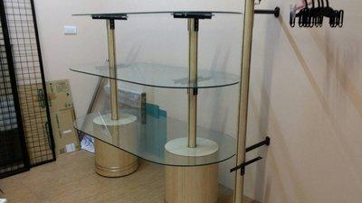 二手 全方位展示中島櫃 可分層展示飾品 適合服飾店 飾品精品店 鞋店