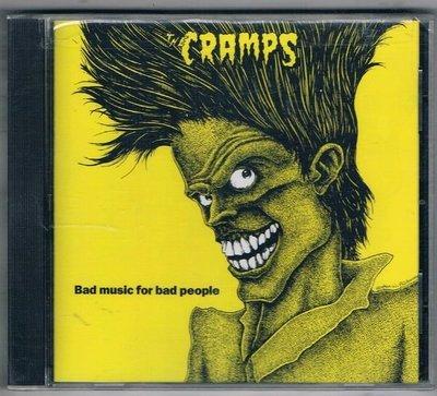 [鑫隆音樂]西洋CD-THE CRAMPS / BAD MUSIC EOR BAD PEOPLE {CD70042}原裝進口版